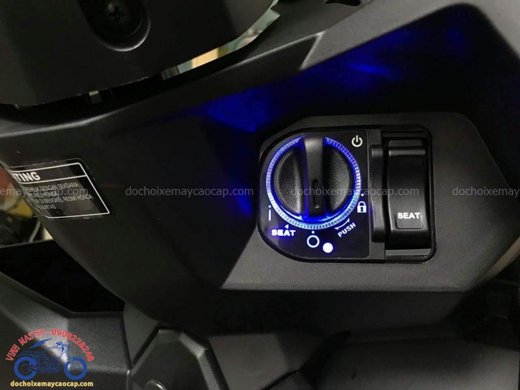 Hình ảnh: Độ khóa Smart key cho xe Vario 2017 tại Shop Đồ chơi xe máy cao cấp giá rẻ nhất TpHCM Q1