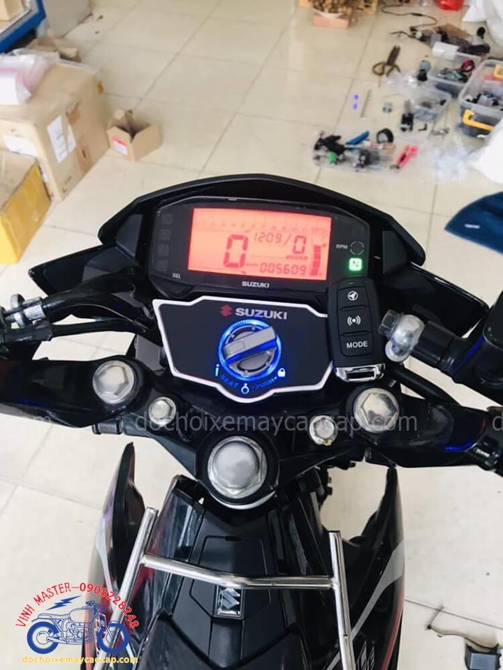 Hình ảnh: Khóa Smart key cho xe Raider giá rẻ tại Shop đồ chơi xe máy cao cấp TpHCM Q1
