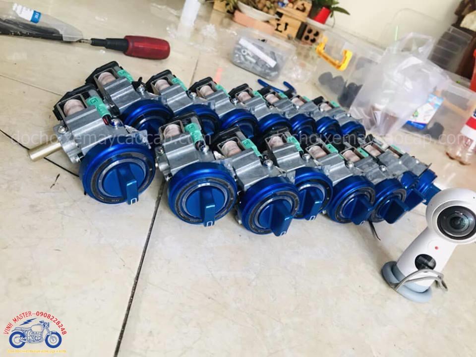 Hình ảnh: Khóa Smartkey độ cho xe Eciter và SH Ý cực đẹp giá rẻ tại Shop Vinh Master TpHCM Q1