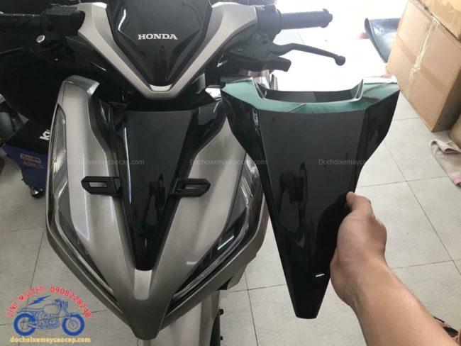Hình ảnh: Mặt nạ Vario 2018 được lắp vào xe giá rẻ tại Shop Đồ chơi xe máy cao cấp TpHCM Q1